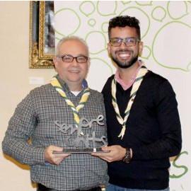 Vicente Pascual recibe el premio Sant Maure